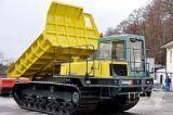 ダンプのゴム製トラック(600X100X80)、Morooka Mst 800
