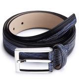 OEM véritable fendu de courroie en cuir de Pin de 35mm de boucle de mode d'hommes de courroie de ceinture de maintien large d'homme