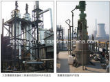 De Hoge Efficiënte Energie van Tfe - Apparatuur van het Recycling van de Olie van de Motor van de Fabriek van de besparing de Prijs Afgeveegde Roterende Vacuüm Gebruikte