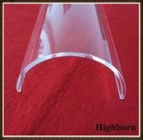 Surtidor Vaulted de la placa de cristal de cuarzo de la silicona del polaco claro