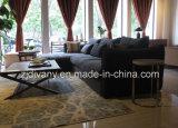 (l) (r) +E Divanyの家具の現代革ソファー一定D-74-B+D