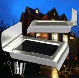 Lampada solare esterna con l'indicatore luminoso del sensore di movimento LED