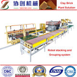 粘土の自動煉瓦作成機械