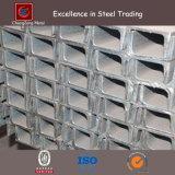 Aço laminado a alta temperatura estrutural da canaleta em U de ASTM Ss400 (CZ-C43)