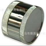 Qualité rectifieuse en alliage de zinc de fumée de rectifieuse de tabac en métal de 3 couches
