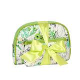 خضراء [بفك] مسيكة نمو نساء مستحضر تجميل حقيبة لأنّ ترقية