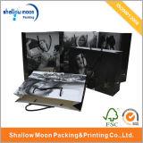 Sac à provisions en papier à estampe à chaud personnalisé (QYCI1527)