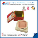 Caixa relativa à promoção Shaped do sabão do metal do quadrado por atacado