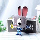 Zootopia最も新しいJudy Hoppsのウサギかわいい携帯用携帯用力バンク