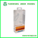 Коробка пластичной бритвы печатание ясности любимчика упаковывая