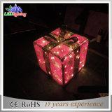 Indicatori luminosi esterni moderni del contenitore di regalo della decorazione del giardino LED di festa