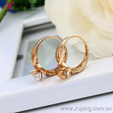 Ouro 18k - anel elegante da forma de Xuping chapeado das mulheres com Zircon