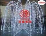 DEL 3D Sculpture Motif Light/Outdoor Decoration Light