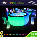 Multi Color LED RGB Fuente de luz LED muebles Silla de la barra