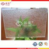 Feuille prismatique de construction de polycarbonate pour la toiture ou la décoration
