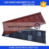 O tipo telha da telha/horizontalmente do metal de telhado, telhadura da isolação térmica Shingles telhas