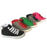 Дешевый оптовый ботинок холстины девушки пинка Espadrille способа в Китае