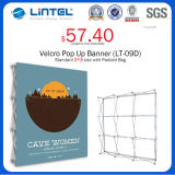 Квадратное Tube Aluminum Banner Stand Magnetic Pop вверх (LT-09L-A)