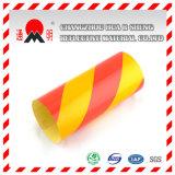 Publicidad PET de calidad del material reflectante amarillo (TM3300)