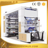 Тип 6 машинное оборудование стога Nuoxin печатание Flexo цвета высокоскоростное