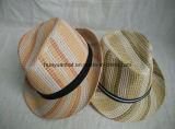 100%Polyester 다채로운 중절모 모자