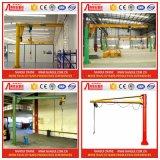 Het van certificatie ISO Pakhuis roteert 360 van de Elektrische van 0.5 Ton Graden Kraan van de Kraanbalk
