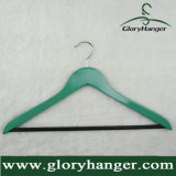 Hanger van het Gebruik van het kledingstuk de Hoogste Houten, de Hanger van het Overhemd met de Staaf van Broeken