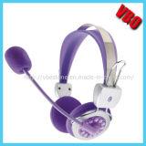 Auscultadores estereofónico personalizado dos auriculares das crianças (VB-9504M)