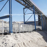 Nastro trasportatore curvo terrestre/trasportatore curvo di /Mining del trasportatore