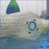 Kundenspezifische Vergnügungspark-aufblasbare Wasser-Rollen-/Wasser-Kugel für Verkauf
