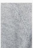 Der Männer erstklassige reine Kaschmir-Strickjacke der runder Stutzen-lange Hülsen-100%