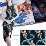 Digital gedrucktes Organza-Gewebe für Kleid
