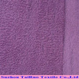 Выбитое Suede Velvet Backing Fabric для Home Textile