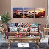 Modèles modernes de peinture de mur de nature de décoration