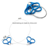 Plastic esterno Ring Steel Wire Saw Scroll per Camping