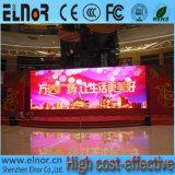 Afficheur LED polychrome d'intérieur de stade du prix bas P8