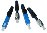 Sc Fast Connector/Sc APC/Upc Optical Fast 또는 Quick Connector