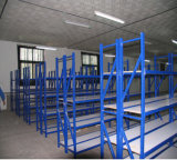 Metal personalizado venda por atacado que exporta o racking claro de Boltless do dever