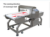 Verific o detetor de metais não-ferroso ferroso para ver se há a indústria alimentar