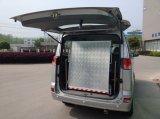 Rampa plegable sillón de ruedas de aluminio para la puerta trasera de Van