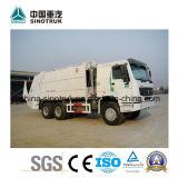 Camion di immondizia professionale di compressione del rifornimento HOWO con il formato differente del serbatoio