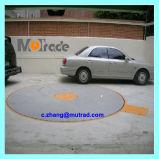 Los vehículos portables movibles del edificio de pasillo de exposición de la familia del mecanismo impulsor del motor del estacionamiento económico que el automóvil gira giran el sistema de torneado auto de la placa giratoria móvil del coche