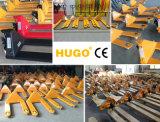 3000kg Transpaletas manuales hidráulico bomba de mano carro de plataforma