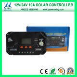 CE PWM 12V 24V 10A LCD Carregador Solar Controller (QWP-VS1024U)