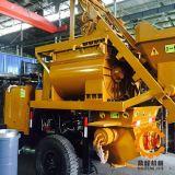 Pompe de mélange concrète électrique de remorque de Hbt30c-I, intégration de mélange de transport
