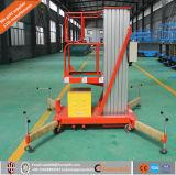 передвижная одиночная платформа подъема алюминиевого сплава рангоута 10m