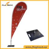 3.4m im Freienfiberglas-Digital-Druckenteardrop-Markierungsfahne/Fliegen-Markierungsfahne