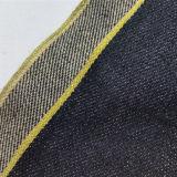 ткань 18974 джинсовой ткани зальбанда ковбоя края золота 13oz