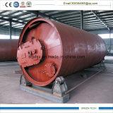 使用されたタイヤのリサイクルのための10トンのPyrolisis機械