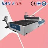 Machine de découpage en aluminium de laser de fibre en métal de commande numérique par ordinateur d'acier doux d'acier inoxydable pour la feuille de plaque métallique (GS-LFD3015)